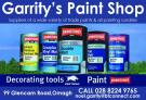 Garrity's paint shop Omagh